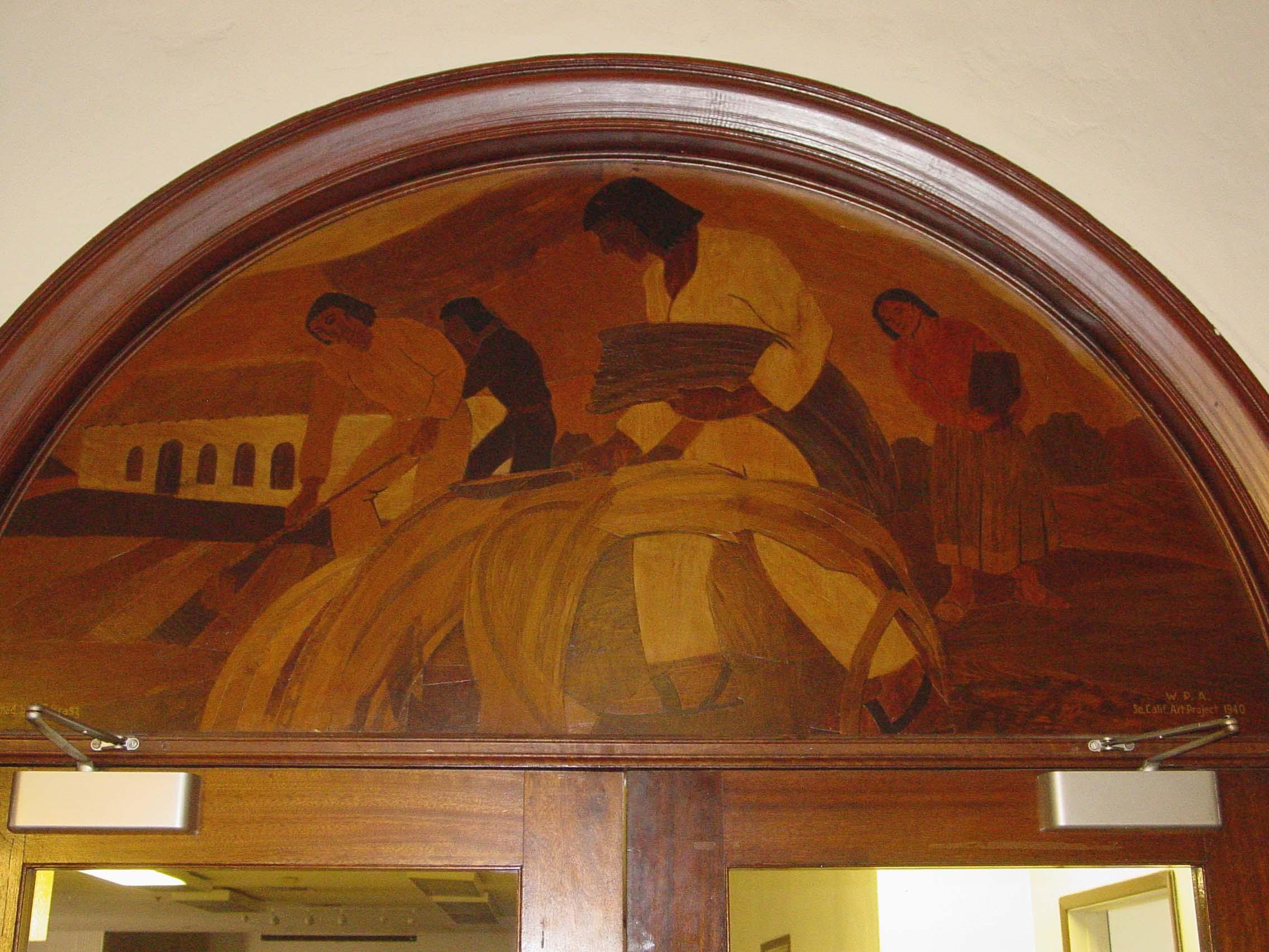 """History of Redlands"" (Harvesting)"