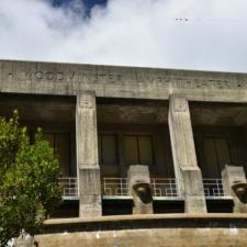 West facade of Woodminster amphitheater - Oakland CA