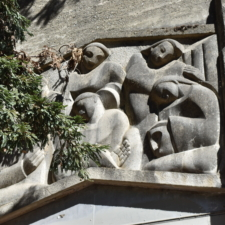 Bas-relief, Woodminster amphitheater - Oakland CA