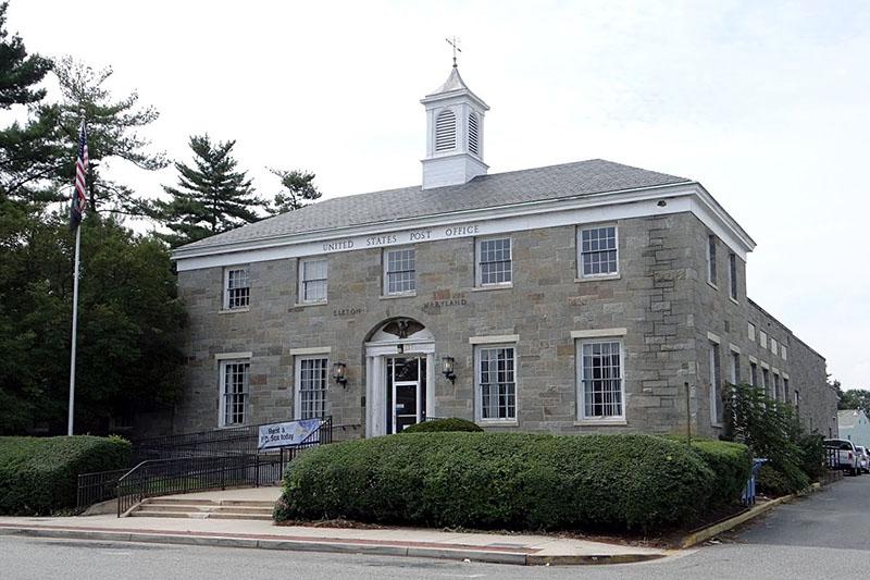 Post Office Mural - Elkton MD - Living New Deal