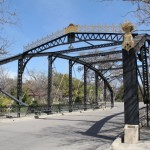 Iron Truss Bridge, Brackenridge Park, San Antonio TX