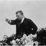 Teddy Roosevelt on the stump