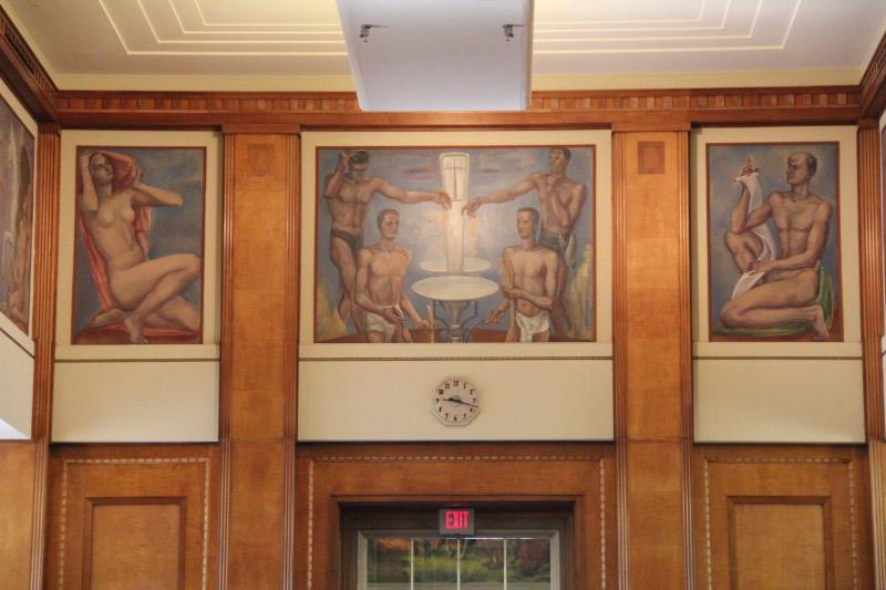 "Sterne, ""Attributes of Justice,"" Dept of Justice - Washington DC"