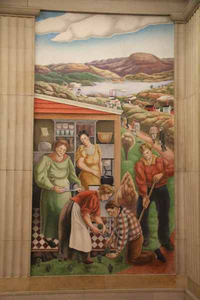 """Biddle, """"Society Freed Through Justice,"""" Dept of Justice - Washington DC"""
