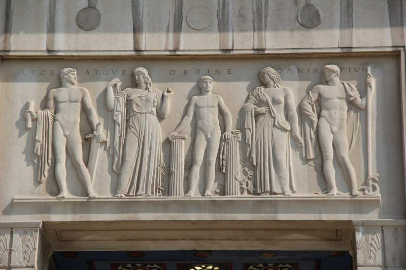 kennedy department of justice building jennewein sculptural elements washington dc living new deal