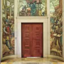 Henry Varnum Poor murals, Dept of Justice - Washington DC