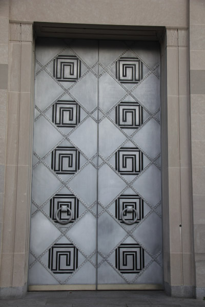 Department of Justice Washington DC exterior doors & Department of Justice: Exterior Sculptures and Reliefs - Washington ...