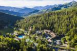 Aerial of Aspen Grove Family Camp - Mt Timpanogos UT