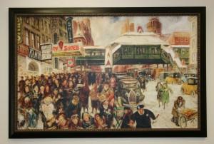 John Sloan's Fourteenth Street at Sixth Avenue