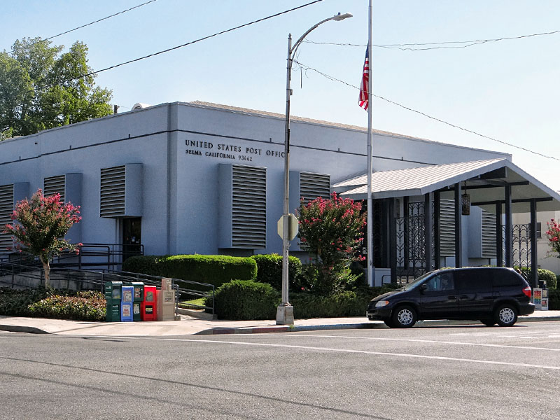 Post Office Selma Ca Living New Deal