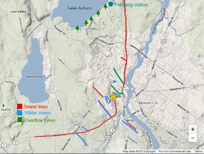 Municipal Utility Improvements Auburn Me Living New Deal