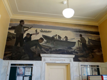 Post Office Mural – Falmouth MA