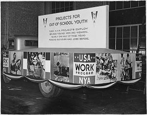 National Youth Association: USA Work Program Float