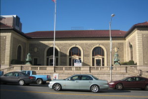A federal lawsuit brought by the National Post Office Collaborate halted the sale of the post office in Stamford Connecticut, sold to a developer who planned to tear part of it down and put up luxury apartments.