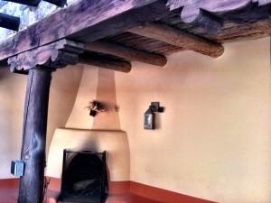 Visitor Center Fireplace Bandelier