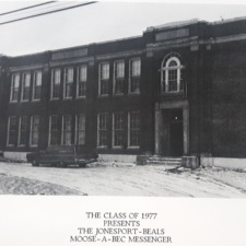 Jonesport High School.Yearbook 1977.