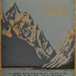 1938 Grand Teton original serigraph - first design
