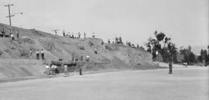 CT Park under construction