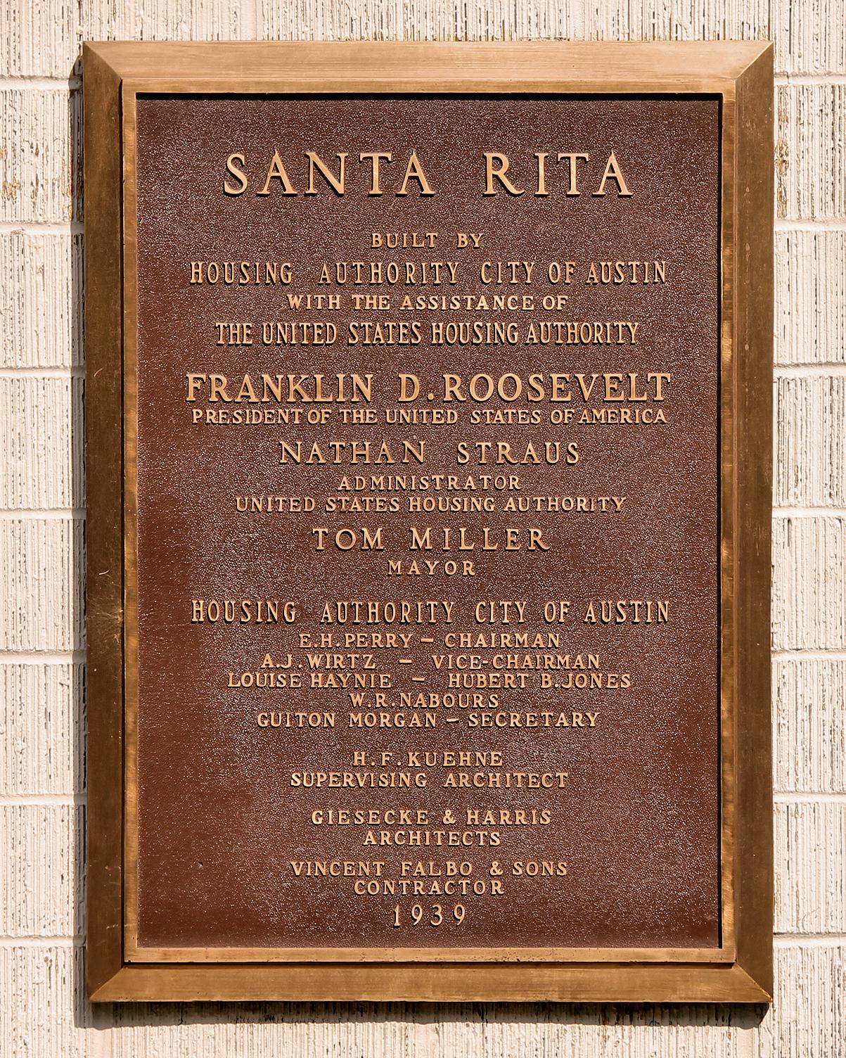 Santa Rita Courts - Austin TX - Living New Deal