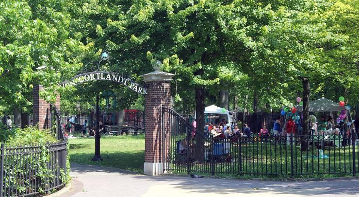 Van Cortlandt Park, Southwest Playground - Bronx NY - Living New Deal