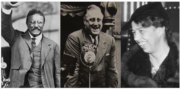 Burns Roosevelt documentary publicity photo