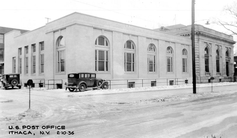 Ithaca, New York Post Office, Post-Extension