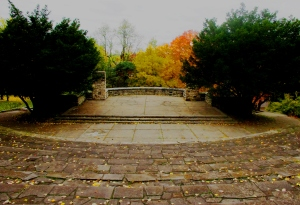 Chestnut Ridge stage in fall