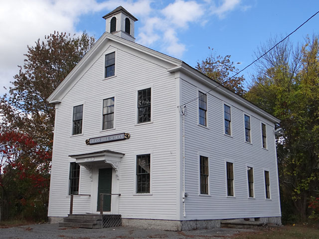 Old West Millbury School, Millbury, MA