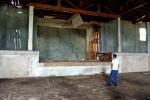 Old Cedarvale School Gymnasium stage