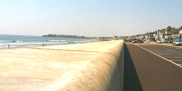 Hampton Beach Seawall Post Reconstruction C 2017