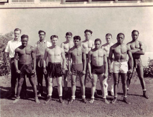 CCC Boxing Team at Marsh Field, San Diego, Calif.