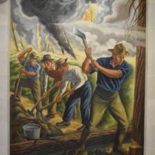 "Fiene, ""Fighting Forest Fire"", Dept of Interior - Washington DC"