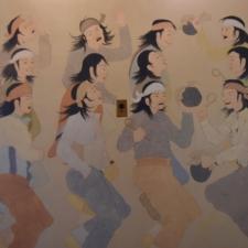 "Allan Houser, ""Sacred Fire Dance"", Dept of Interior - Washington DC"