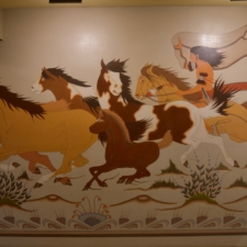 """WoodrowCrumbo """"Wild Horses"""",Udall Interior Building - Washington DC"""