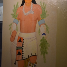 "Velino Herrera, figure for ""Corn Dance"", Dept of Interior - Washington DC"