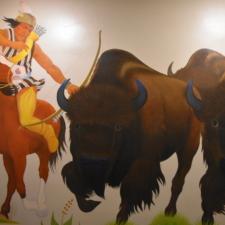 "Velino Herrera 1, ""Buffalo Chase"", Dept of Interior - Washington DC"