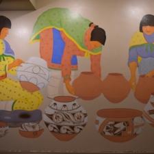 "Velino Herrera, ""Women Making Pottery"", Dept of Interior - Washington DC"