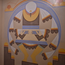"Velino Herrera, ""Eagle Dance Design"", Dept of Interior - Washington DC"