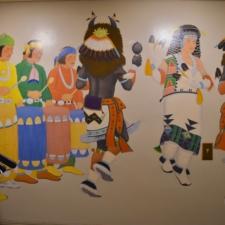 "Velino Herrera, ""Buffalo Dance"", Dept of Interior - Washington DC"