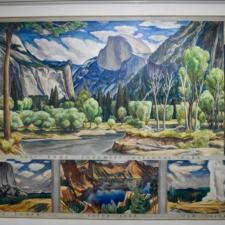 """David McCosh """"Yosemite"""", Dept of Interior -Washington DC"""