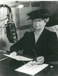 "Eleanor Roosevelt is remembered for her newspaper column, ""My Day,"" but she reached millions through her weekly radio address."