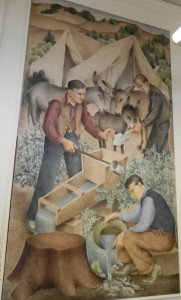 Five new Deal murals painted in 1938 were in limbo when the Eureka Federal Building was sold.