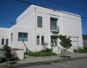 The Whittier School, dedicated in 1939, is today a magnet school for the arts.
