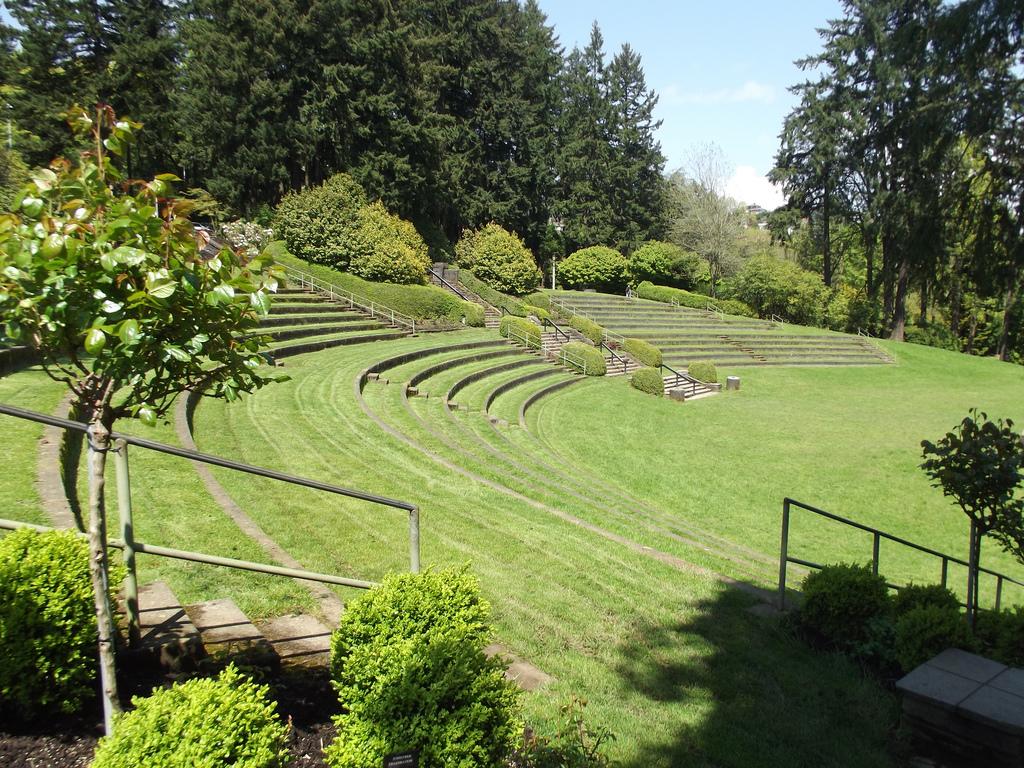 Washington Park Amphitheater Portland Or Living New Deal