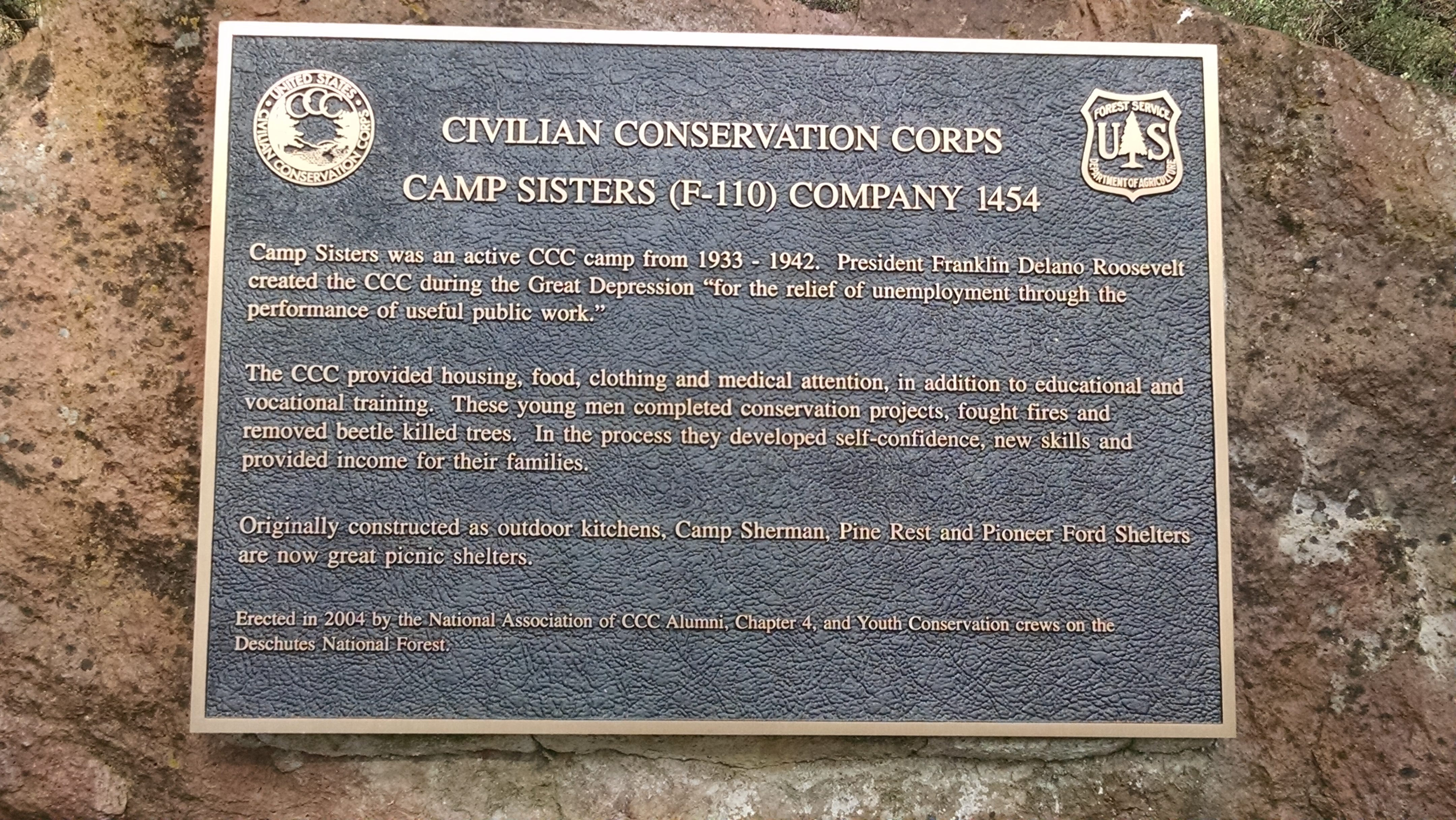 Camp Sisters Improvements - Camp Sherman OR - Living New Deal