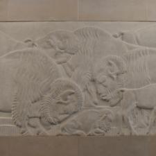 "Gilbertson ""American Bison"" Relief, Dept of Interior - Washington DC"