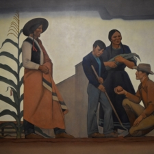 "Maynard Dixon ""Indian and Teacher"", Dept of Interior - Washington DC"