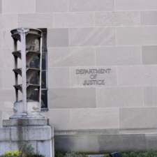Exterior, Kennedy Department of Justice building - Washington DC