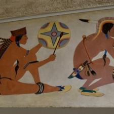 "Stephen Mopope 1 ""Ceremonial Dance,"" Dept of Interior - Washington DC"