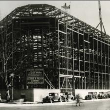 Department of Justice building under construction, 1932 - Washington D